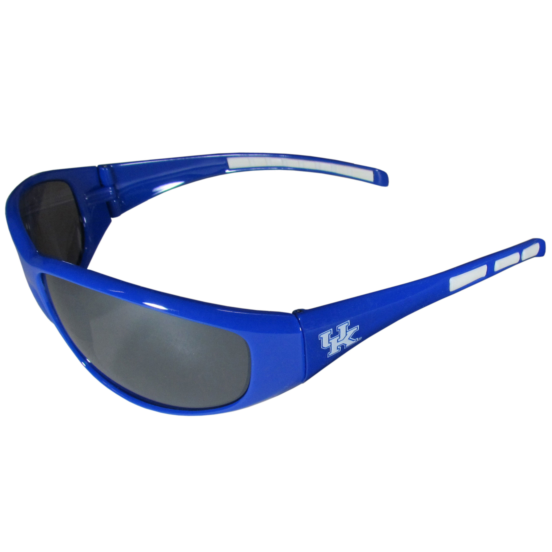Kentucky Wildcats Wrap Sunglass and Case Set - This great set includes a high quality pair of Kentucky Wildcats wrap sunglasses and hard carrying case.