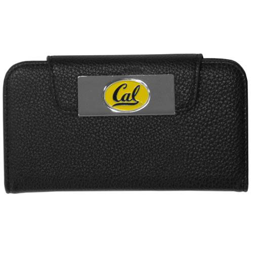 LSU Tigers Samsung Galaxy S4 Wallet Case - This new & wildly popular LSU Tigers Samsung Galaxy S4 Wallet Case is ideal for those who like to travel light! The stylish LSU Tigers Samsung Galaxy S4 Wallet Case has an inner hard shell that securely holds your phone while allowing complete access to the phone's functionality. The flip cover has slots for credit cards, business cards and identification. The magnetic flip cover has a metal team emblem on a high polish chrome backing. This LSU Tigers Samsung Galaxy S4 Wallet Case fits the Samsung Galaxy S4. Thank you for shopping with CrazedOutSports.com