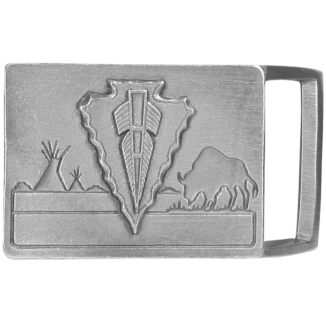 Arrowhead Antiqued Belt Buckle - Finely sculpted and intricately designed belt buckle. Our unique designs often become collector's items.