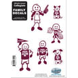 Texas A & M Aggies Family Decal Set Small