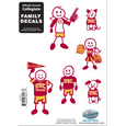 USC Trojans Family Decal Set Small