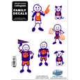 Clemson Tigers Family Decal Set Small