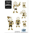 Purdue Boilermakers Family Decal Set Small