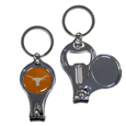 Texas Longhorns Nail Care/Bottle Opener Key Chain