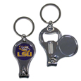 LSU Tigers Nail Care/Bottle Opener Key Chain