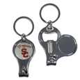USC Trojans Nail Care/Bottle Opener Key Chain