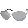 N. Carolina Tar Heels Aviator Sunglasses