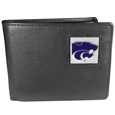 Kansas St. Wildcats Leather Bi-fold Wallet