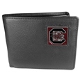 S. Carolina Gamecocks Leather Bi-fold Wallet Packaged in Gift Box