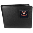 Virginia Cavaliers Leather Bi-fold Wallet Packaged in Gift Box