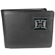 Hawaii Warriors Leather Bi-fold Wallet