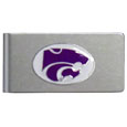 Kansas St. Wildcats Brushed Metal Money Clip