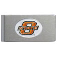 Oklahoma State Cowboys Brushed Metal Money Clip