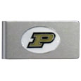 Purdue Boilermakers Brushed Metal Money Clip
