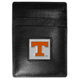 Tennessee Volunteers Leather Money Clip/Cardholder Packaged in Gift Box