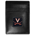 Virginia Cavaliers Leather Money Clip/Cardholder