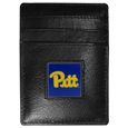 PITT Panthers Leather Money Clip/Cardholder Packaged in Gift Box