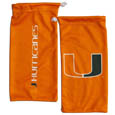 Miami Hurricanes Microfiber Sunglass Bag