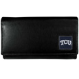 TCU Horned Frogs Leather Women's Wallet