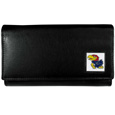 Kansas Jayhawks Leather Women's Wallet