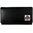 Ohio St. Buckeyes Leather Women's Wallet