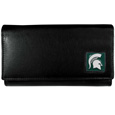 Michigan St. Spartans Leather Women's Wallet