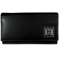 Hawaii Warriors Leather Women's Wallet