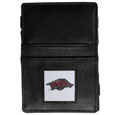 Arkansas Razorbacks Leather Jacob's Ladder Wallet