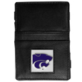 Kansas St. Wildcats Leather Jacob's Ladder Wallet