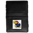 Kansas Jayhawks Leather Jacob's Ladder Wallet