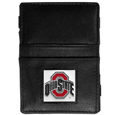 Ohio St. Buckeyes Leather Jacob's Ladder Wallet