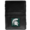 Michigan St. Spartans Leather Jacob's Ladder Wallet