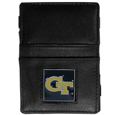 Georgia Tech Yellow Jackets Leather Jacob's Ladder Wallet