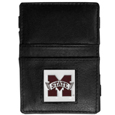 Mississippi St. Bulldogs Leather Jacob's Ladder Wallet