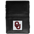 Oklahoma Sooners Leather Jacob's Ladder Wallet