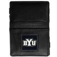 BYU Cougars Leather Jacob's Ladder Wallet