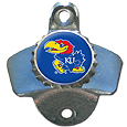 Kansas Jayhawks Wall Mounted Bottle Opener