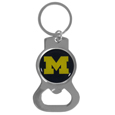 Michigan Wolverines Bottle Opener Key Chain