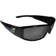 Kansas Jayhawks Black Wrap Sunglasses