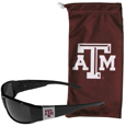 Texas A & M Aggies Chrome Wrap Sunglasses and Bag