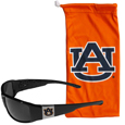 Auburn Tigers Chrome Wrap Sunglasses and Bag