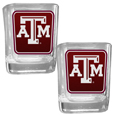 Texas A & M Aggies Square Glass Shot Glass Set