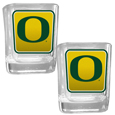 Oregon Ducks Square Glass Shot Glass Set