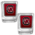 S. Carolina Gamecocks Square Glass Shot Glass Set