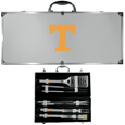 Tennessee Volunteers 8 pc Stainless Steel BBQ Set w/Metal Case