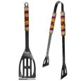 Minnesota Golden Gophers 2 pc Stainless Steel BBQ Tool Set - This Minnesota Golden Gophers 2 pc Stainless Steel BBQ Tool Set is a tailgater's best friend. The Minnesota Golden Gophers 2 pc Stainless Steel BBQ Tool Set has colorful and large team graphics let's everyone know you are a fan! The Minnesota Golden Gophers 2 pc Stainless Steel BBQ Tool Set includes a spatula and tongs with the Minnesota Golden Gophers proudly display on each tool.