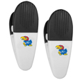 Kansas Jayhawks Mini Chip Clip Magnets, 2 pk