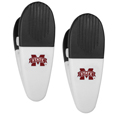Mississippi St. Bulldogs Mini Chip Clip Magnets, 2 pk