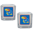 Kansas Jayhawks Graphics Candle Set