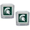 Michigan St. Spartans Graphics Candle Set